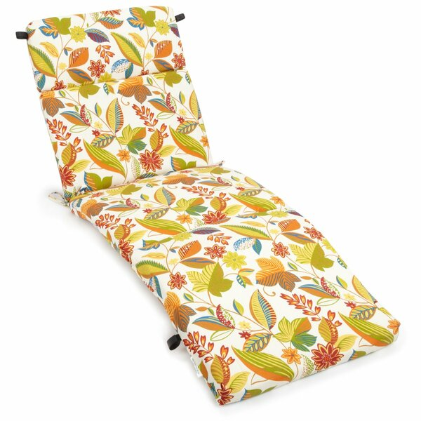 Skyworks Indoor/Outdoor Chaise Lounge Cushion By Winston Porter