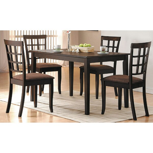 Ismail 5 Piece Dining Set by Red Barrel Studio