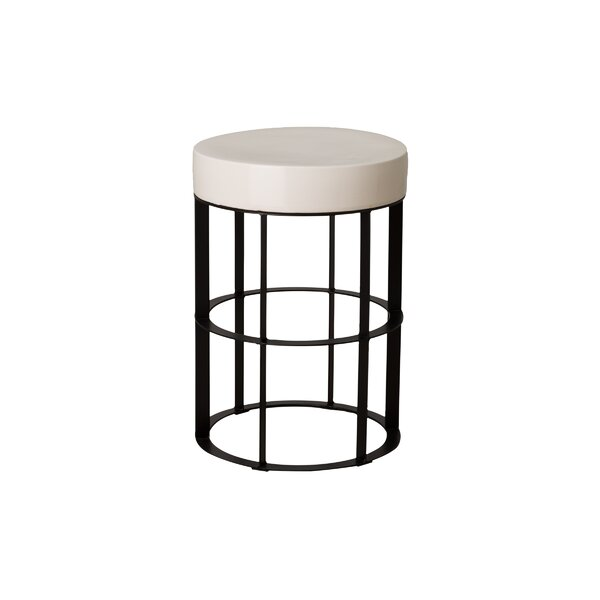 Spitler Pedestal Ceramic End Table by Ivy Bronx Ivy Bronx