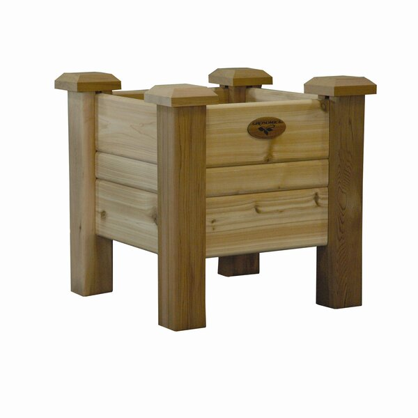 Cedar Planter Box by Gronomics