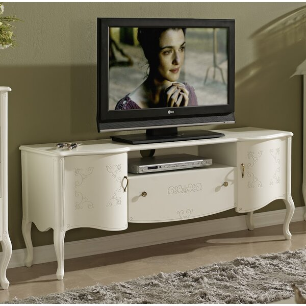 Royce Solid Wood TV Stand For TVs Up To 60