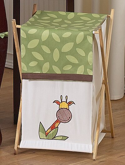 Jungle Time Laundry Hamper by Sweet Jojo Designs