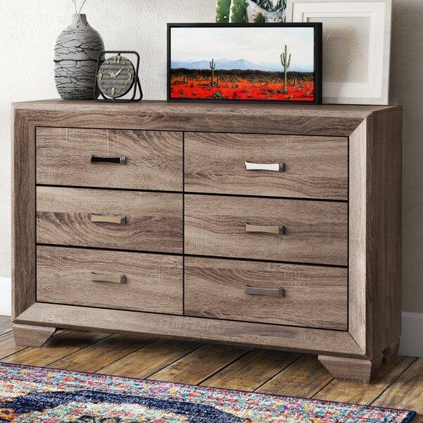 Barnsdall 6 Drawer Double Dresser by Trent Austin Design