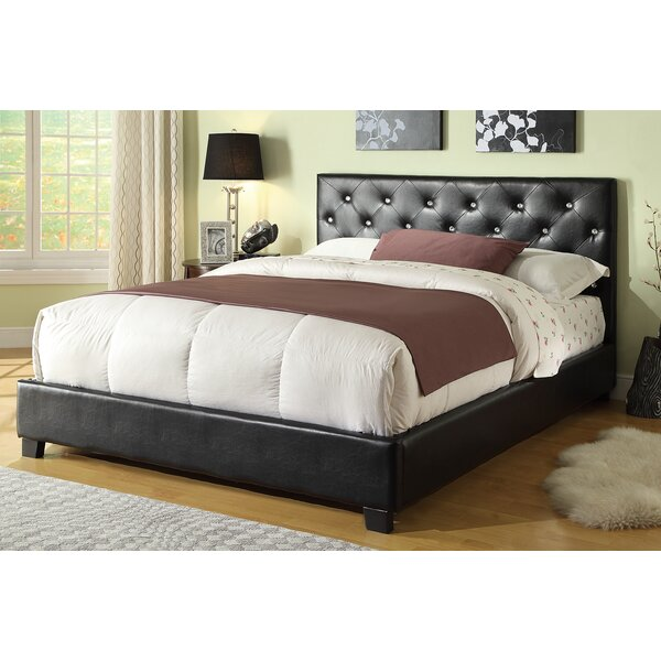 Mary Upholstered Panel Bed by Wildon Home ®