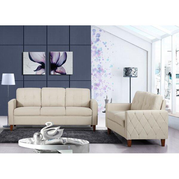 Castiglia 2 Piece Living Room Set by Winston Porter