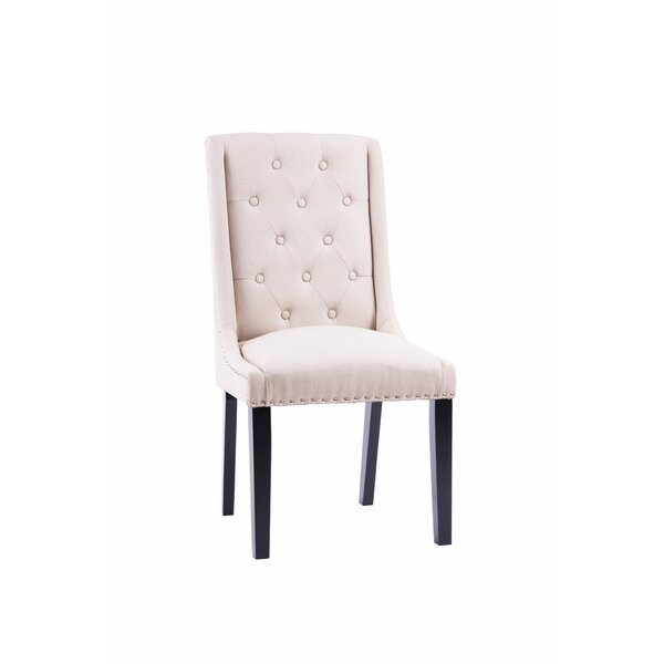 Brendan Upholstered Dining Chair (Set of 2) by Alcott Hill