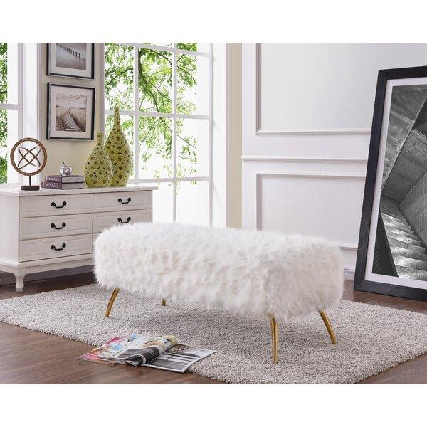 Chalker Upholstered Bench by Mercer41