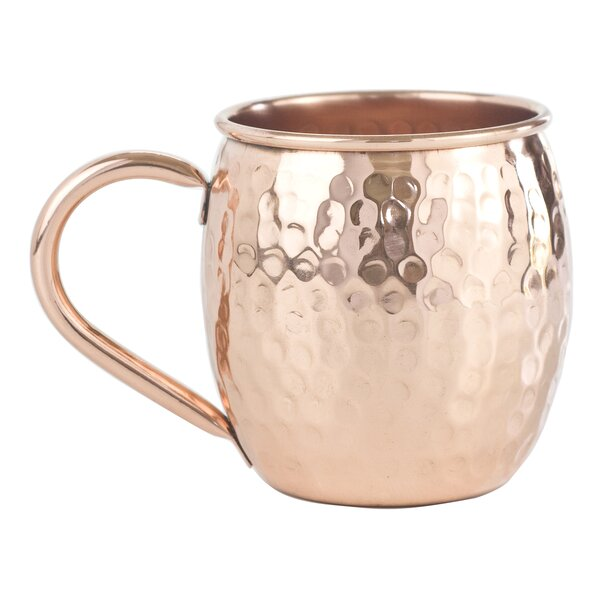 Barrel 16 oz. Moscow Mule Mug (Set of 2) by Copper Mug Co