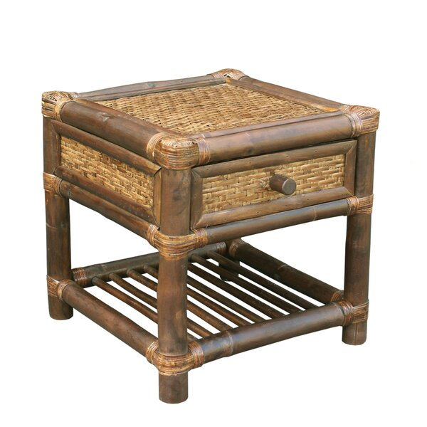 Providencia Bamboo End Table by Bay Isle Home
