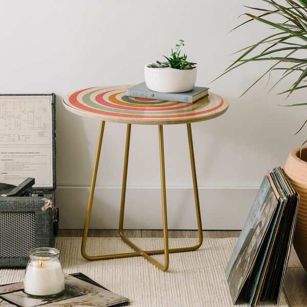 Fimbis Festival Eclipse End Table by East Urban Home