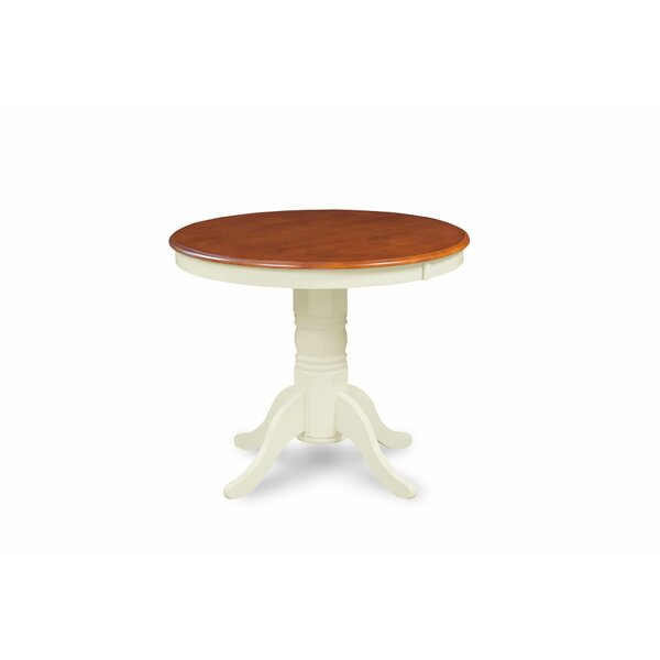Rhames Cherry Top Solid Wood Dining Table By Breakwater Bay Best Design