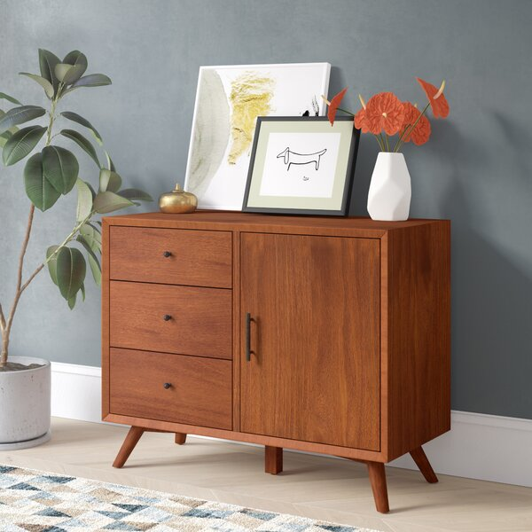 Parocela 3 Drawer Accent Cabinet by Modern Rustic Interiors