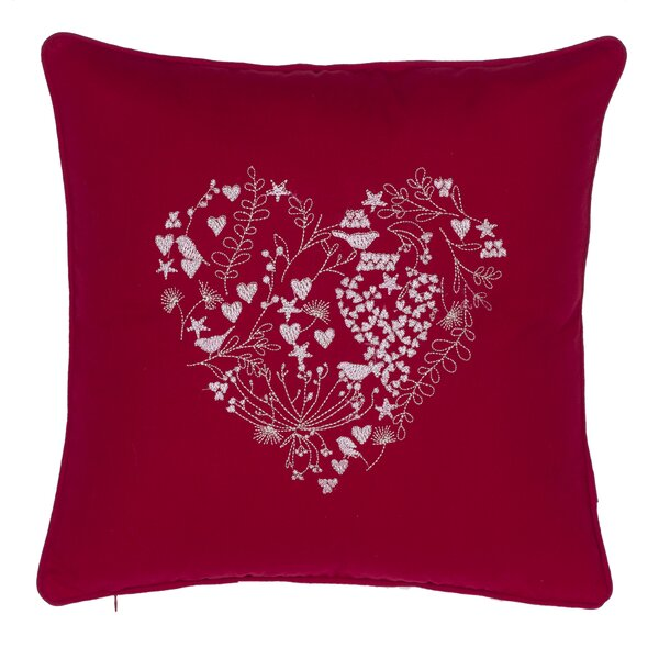 Love Is in the Air Cotton Throw Pillow by 14 Karat Home Inc.