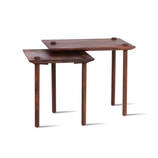 Rhymer End Table by Millwood Pines
