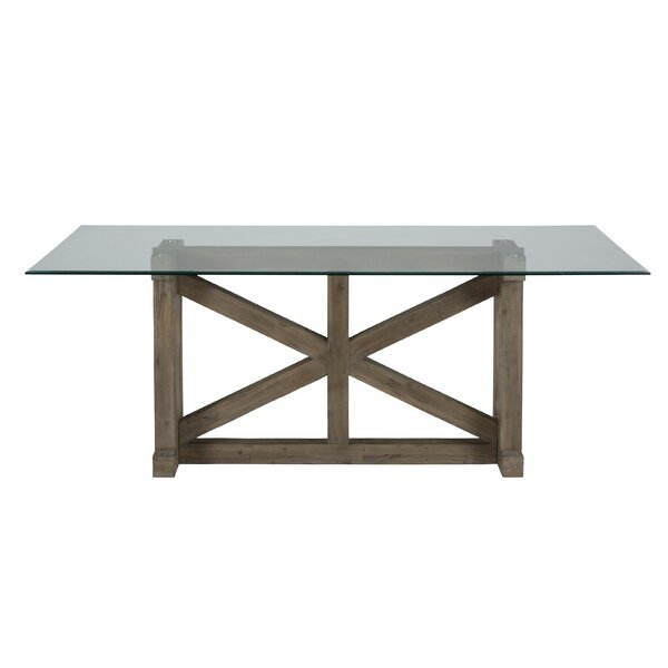 Abram Trestle Dining Table by Gracie Oaks