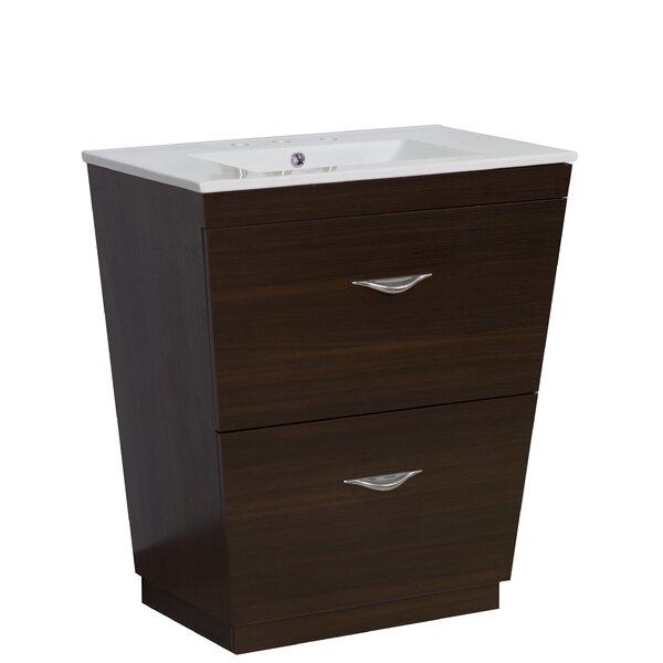 Kao Floor Mount 21 Single Bathroom Vanity Set by Royal Purple Bath Kitchen