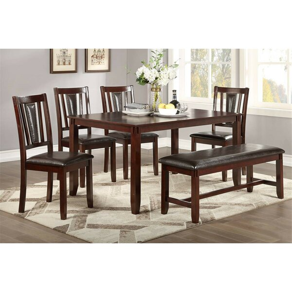 Mackinac 6 Piece Dining Set by Red Barrel Studio Red Barrel Studio