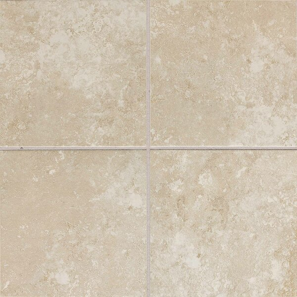 Huston 6 x 6 Ceramic Field Tile in Serene White by Itona Tile
