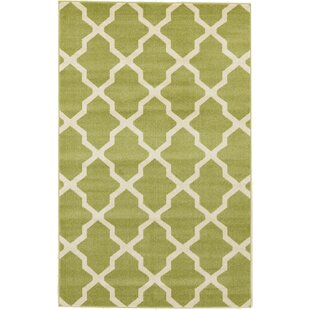 Moore Green Area Rug by Charlton Home