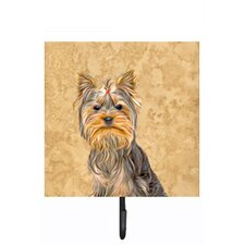 Schnauzer Leash Holder and Wall Hook by Caroline's Treasures
