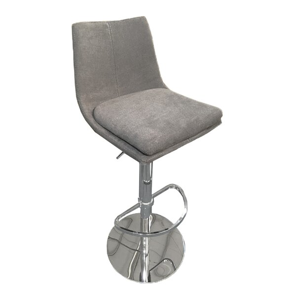 Elco Adjustable Height Swivel Bar Stool by Latitude Run Latitude Run