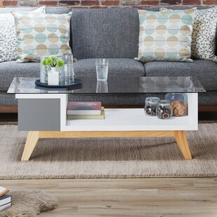 Alijah Coffee Table with Storage by Brayden Studio