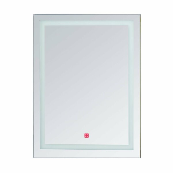 Byrne LED Wall Mirror by Orren Ellis