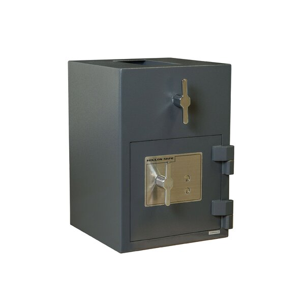 Rotary Hopper Commercial Depository Safe by Hollon