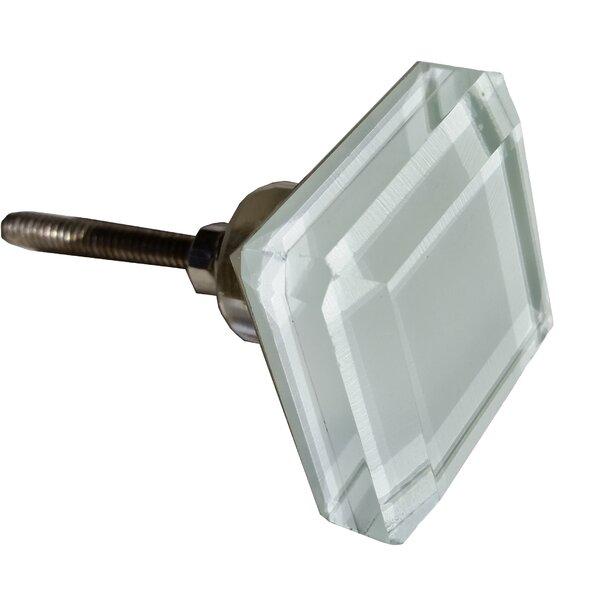 Glass Cabinet Square Knob by GlideRite Hardware