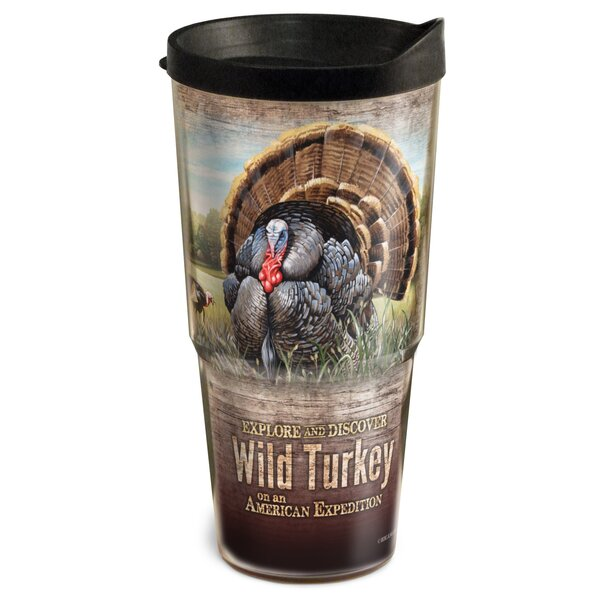 Turkey Wildlife 2-Tier 24 oz. Plastic Travel Tumbler by American Expedition