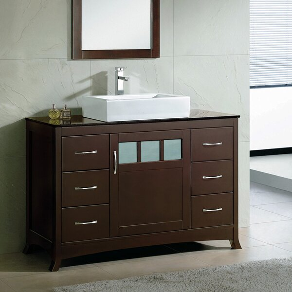 Rettig 48 Single Bathroom Vanity Set by Latitude Run
