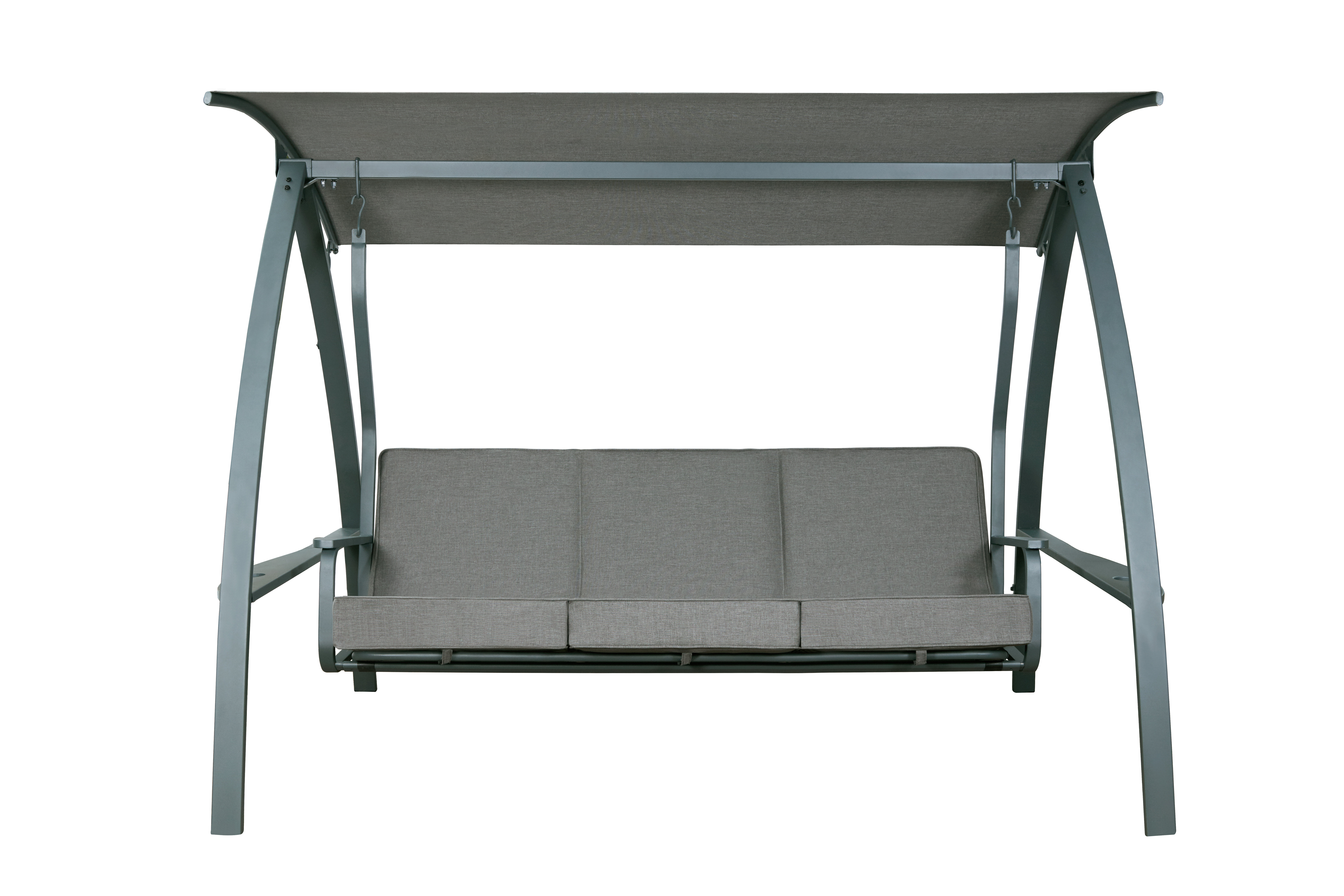 Marquette 3-Seat Daybed Porch Swing with Stand & Reviews | AllModern