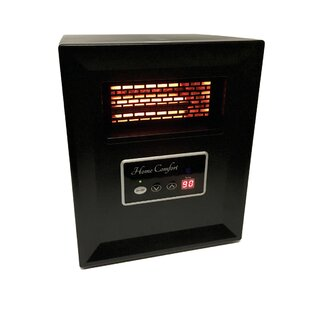 Portable 750 Watt Electric Infrared Cabinet Heater by Home Comfort