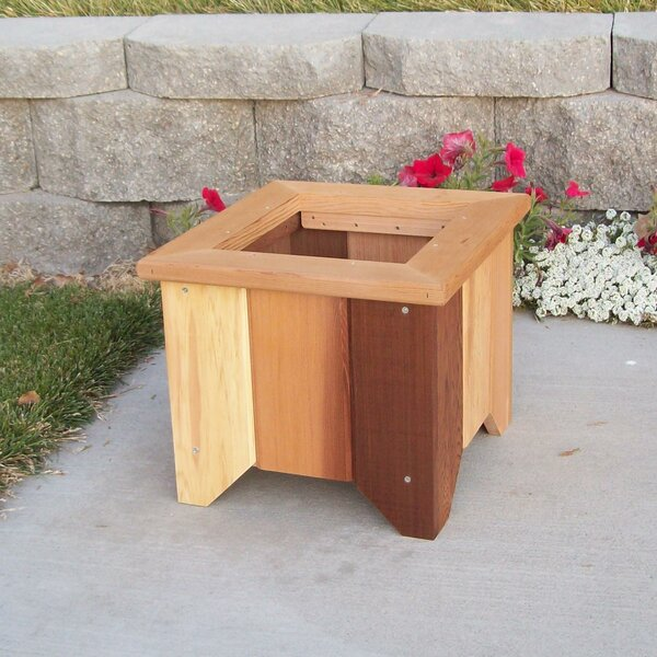Cedar Planter Box by Wood Country