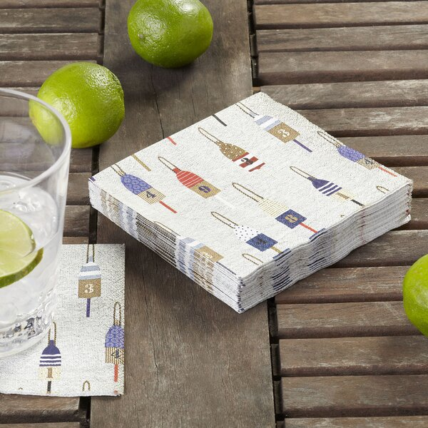 Buoy Cocktail Napkins (Set of 36) by Birch Lane™