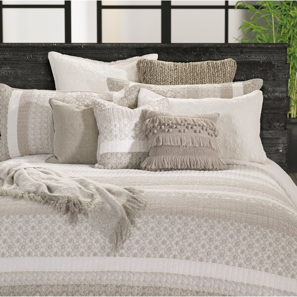 Veda 100% Cotton Reversible Quilt Set