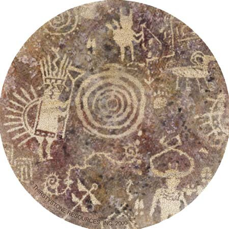 Petroglyph Coaster (Set of 4) by Thirstystone
