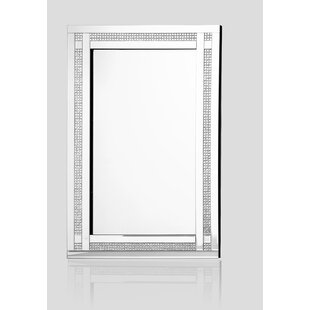 Everly Quinn Rectangle Wall Accent Mirror