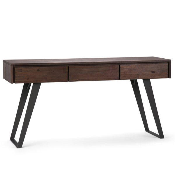 Union Rustic Black Console Tables