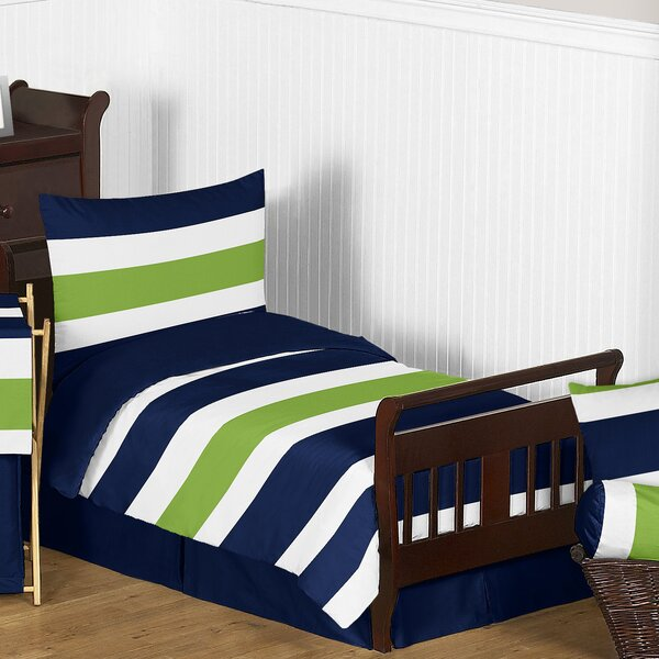 Stripe 5 Piece Toddler Bedding Set by Sweet Jojo Designs
