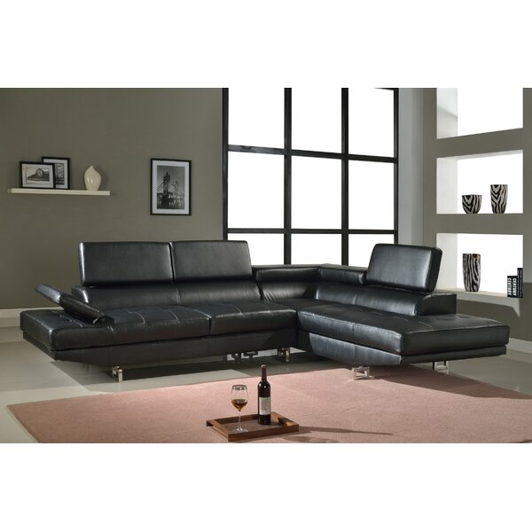Fila Sectional by Beverly Fine Furniture