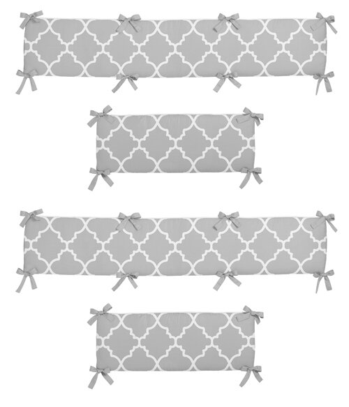 Trellis Crib Bumper by Sweet Jojo Designs