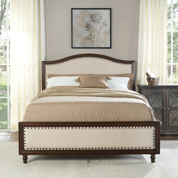 Lyell Upholstered Standard Bed by Ophelia & Co.