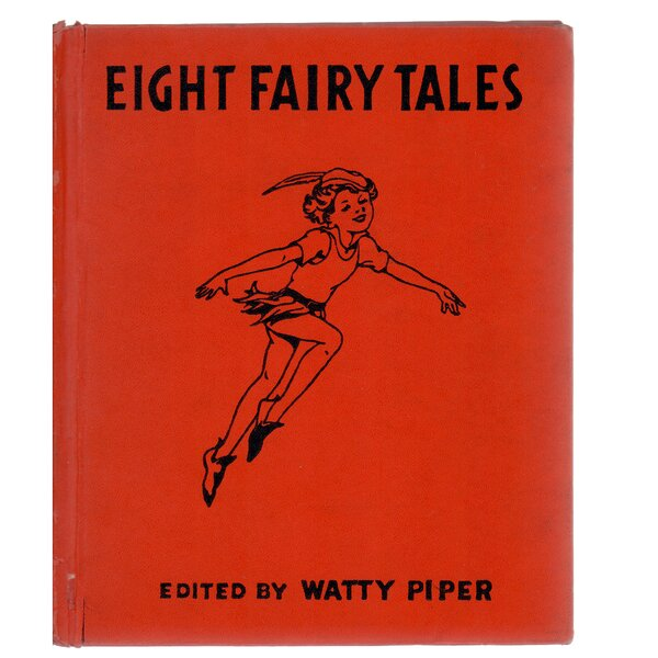 Authentic Decorative Books - Collectible Childrens 1938 Eight Fairy Tales by Kate Cox Goddard by Booth & Williams