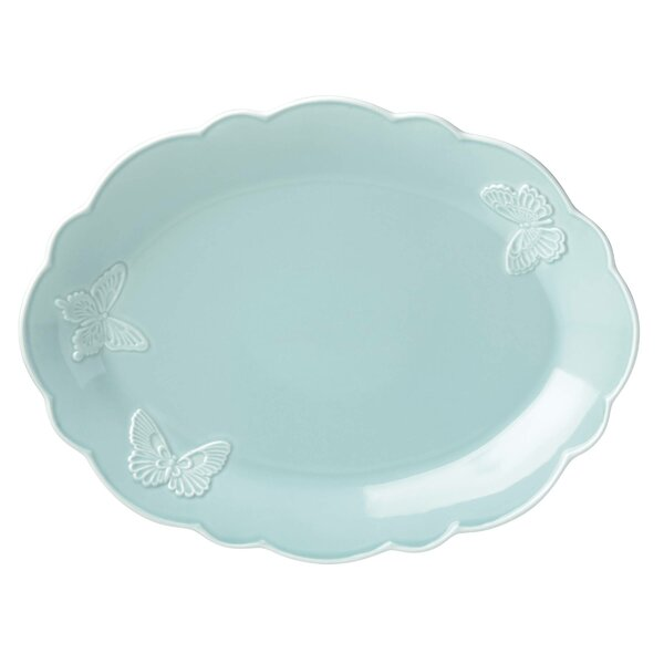 Meadow® Butterfly Carved Oval Platter by Lenox