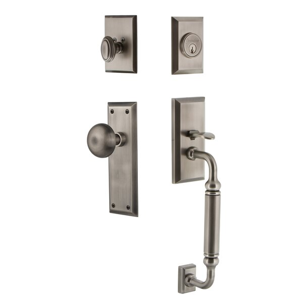 Fifth Avenue Handleset with Knob by Grandeur