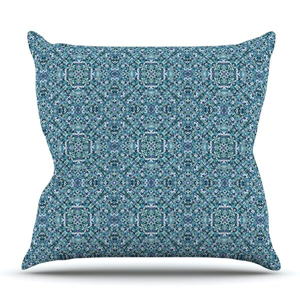 Ocean by Allison Soupcoff Outdoor Throw Pillow by East Urban Home
