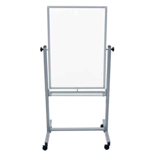 Double Sided Magnetic Moblie Whiteboard by Offex