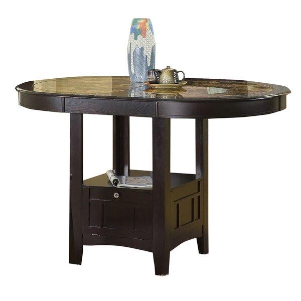 Degraffenreid Solid Wood Dining Table by Red Barrel Studio
