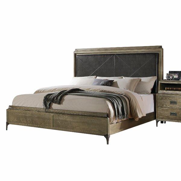 Salzman Eastern King Sleigh Bed by Union Rustic